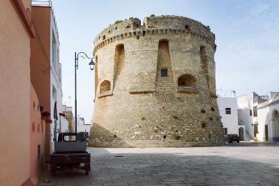 La torre di Salignano, in provincia di Lecce.