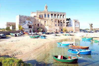 Abbazia di San Vito vicino Polignano a Mare.
