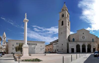 La cattedrale di Andria in Puglia.