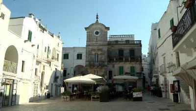 Cisternino in Valle d'Itria, Puglia.