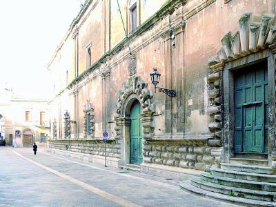 Ex Ospedale dello Spirito Santo a Lecce.