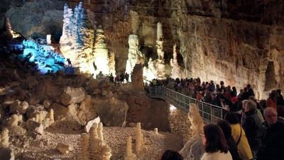 Grotte di castellana in Puglia.