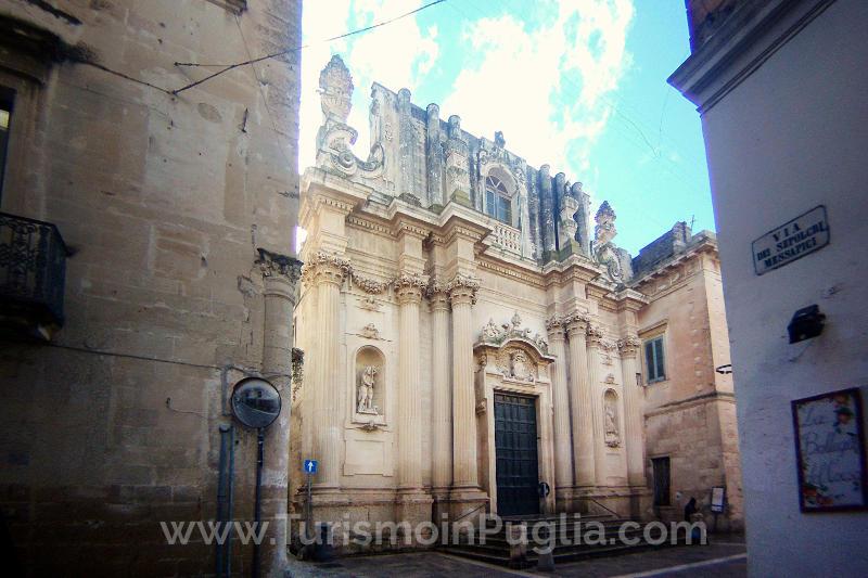 Chiesa di Santa Teresa a Lecce, Salento.