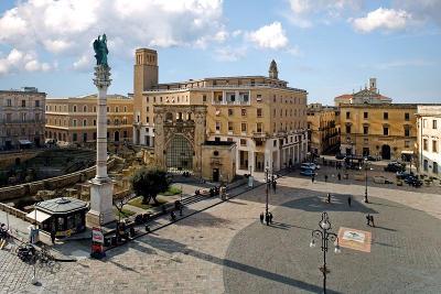 Piazza Sant'Oronzo a Lecce in Salento.