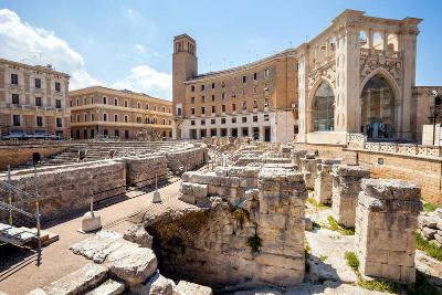 Lecce in Puglia, capoluogo del Salento.