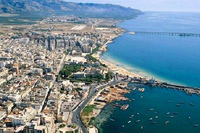 Manfredonia in Puglia.
