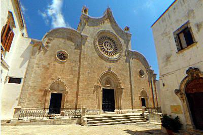 La Cattedrale di Ostuni.
