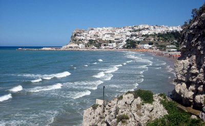Peschici nel Gargano, Puglia.