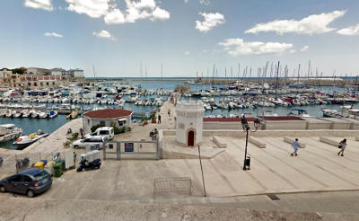 Il porto di Bisceglie.