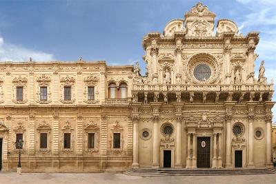 Lecce, basilica di Santa Croce in Puglia.