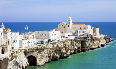 Vieste in Puglia sul Gargano.