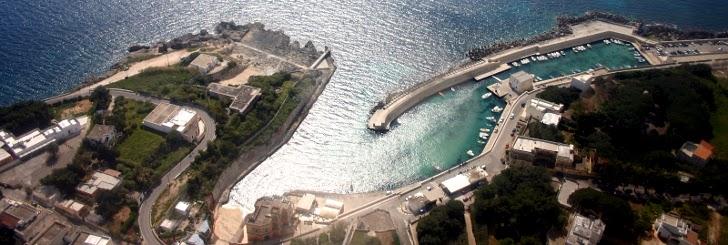 Porto della marina di Tricase, in Puglia.