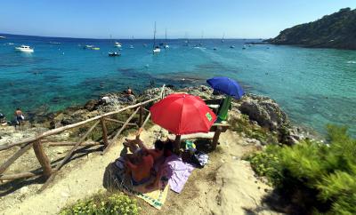 Vacanza con la famiglia alle Isole Tremiti.