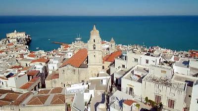 La Basilica Cattedrale di Vieste in Puglia.