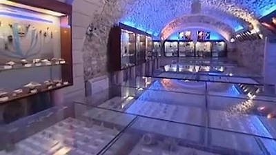 Il museo malacologico di Vieste con migliaia di conchiglie.