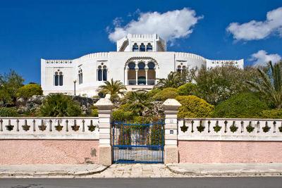 Villa Daniele a Leuca, una delle ville nobiliari ottocentesche.